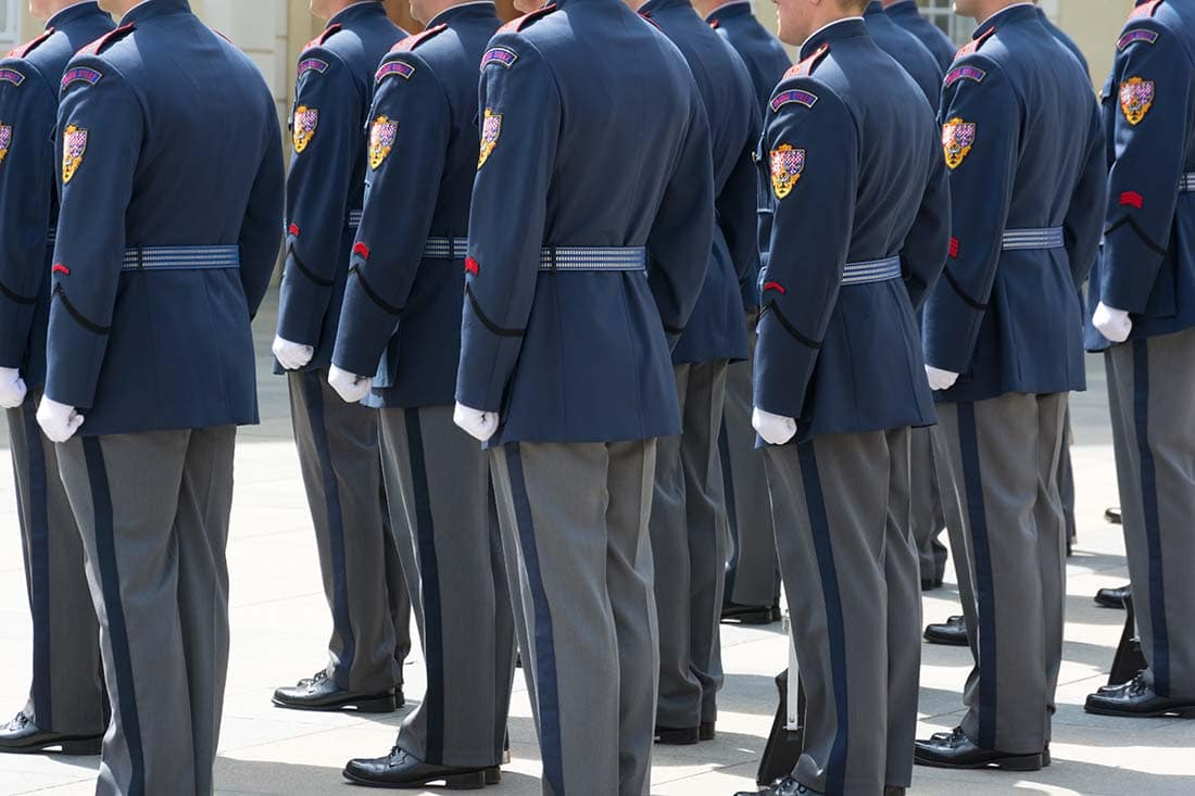 Military Police Fire Mascari Cleaners